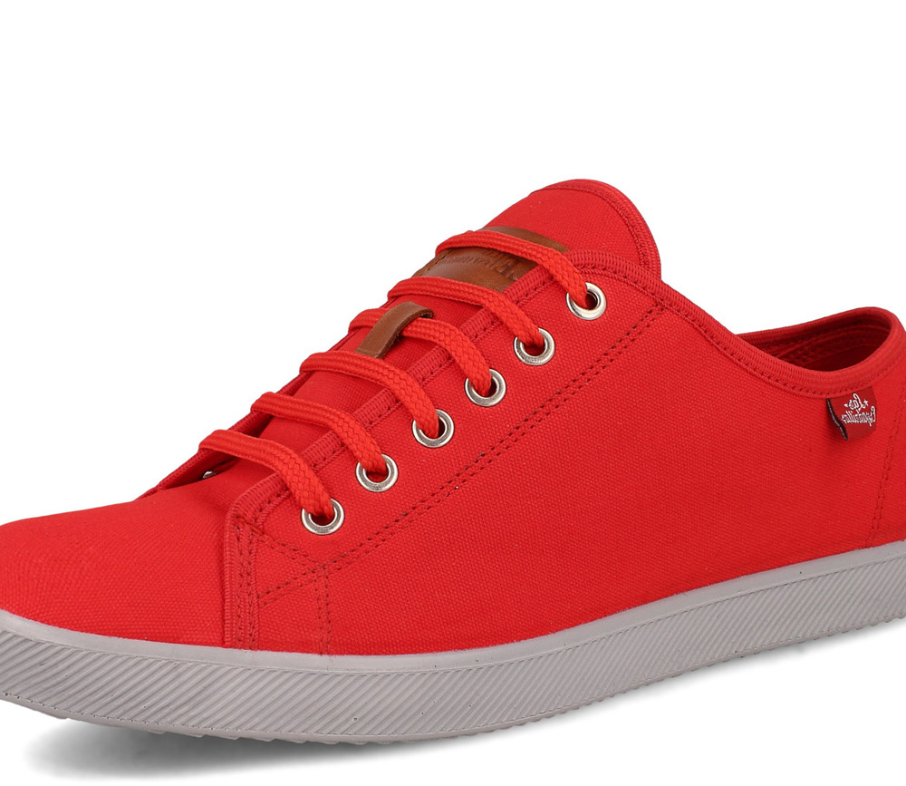 a90da28a Мужские кеды Las Espadrillas Eco Soft 6099-47 Red Slim купить в ...