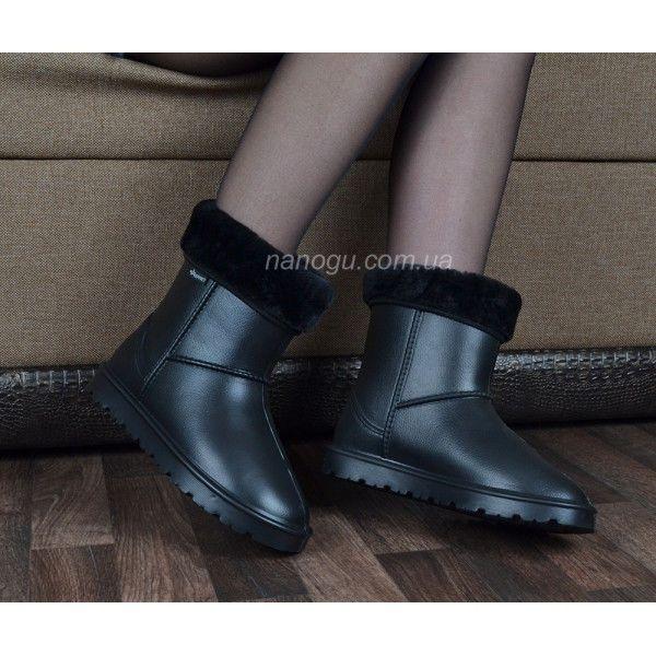 41287fe67c2bf0 Уггі жіночі для сльоти на хутрі TM Jose Amorales чорні купити в ...