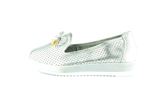 Лофери Allshoes 87377 LadyD 556520 Silver