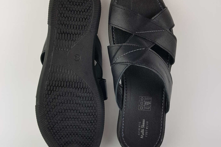 Шлепанцы Multi-Shoes REY 560543 Black фото 5 — интернет-магазин Tapok