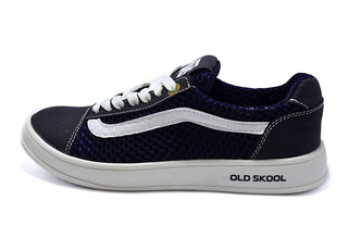 Кроссовки SAV Vans Old Skool 118 9955 Blue White