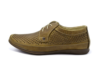 Туфлі VanKristi Perforation 390 99307 Olive