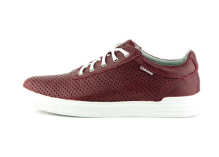 Кеди Club Shoes 18/7 Perforation 556593 Bordeaux