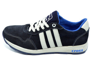 Кроссовки SAV Cross Fit 30 Suede Dark Blue